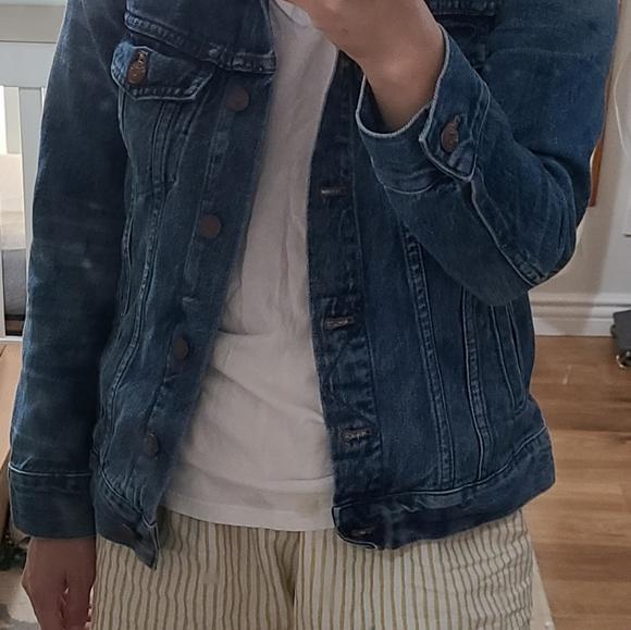 MADEWELL classic jean jacket xs vintage denim blue